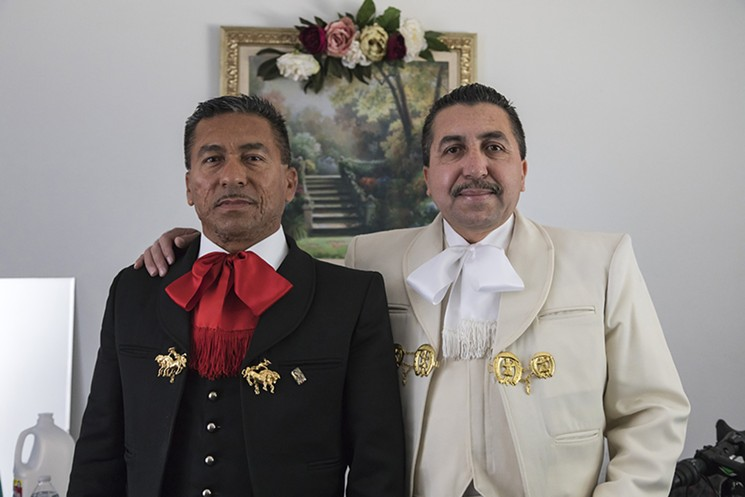 The Valdivia brothers, Enrique and Luis, are mariachis who have shared a Boyle Heights apartment for 21 years. On April 1 the new landlord raised their rent 80 percent.