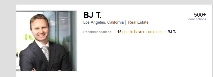 Our dear capitalist, BJ Turner, who will make lots of money from the displacement of 25 low-income Latinx households.